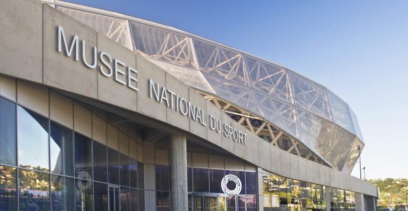 Devanture du musée national du sport